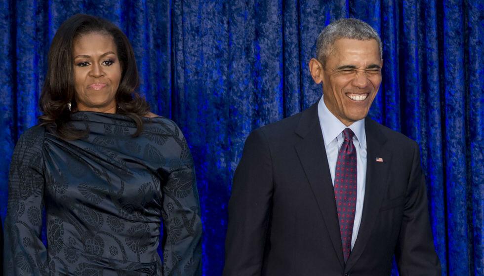 KJENT EKTEPAR: USAs tidligere president Barack Obama og tidligere førstedame Michelle er kjente for offentligheten siden presidentvalget i 2008. Foto: Saul Loeb / AFP / NTB