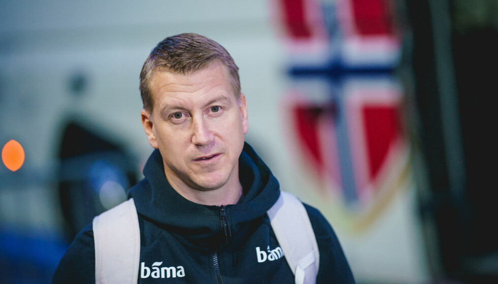 LEDER NORGE: Trener Leif Gunnar Smerud er på plass i Wien. Foto: Stian Lysberg Solum / NTB