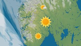ETTERLENGTET: Solen vil skinne på torsdag og fredag på Østlandet. Foto: Meteorologisk institutt