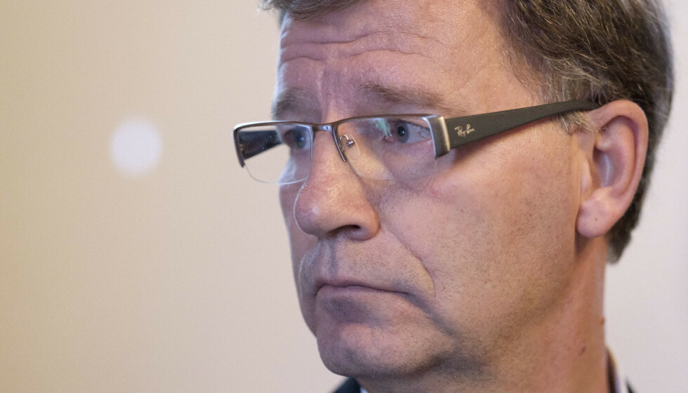 BEKYMRET: Helsebyråd Robert Steen anmoder Oslo-folk til å holde seg hjemme for å hindre ytterligere smitte. Foto: Ole Gunnar Onsien / NTB
