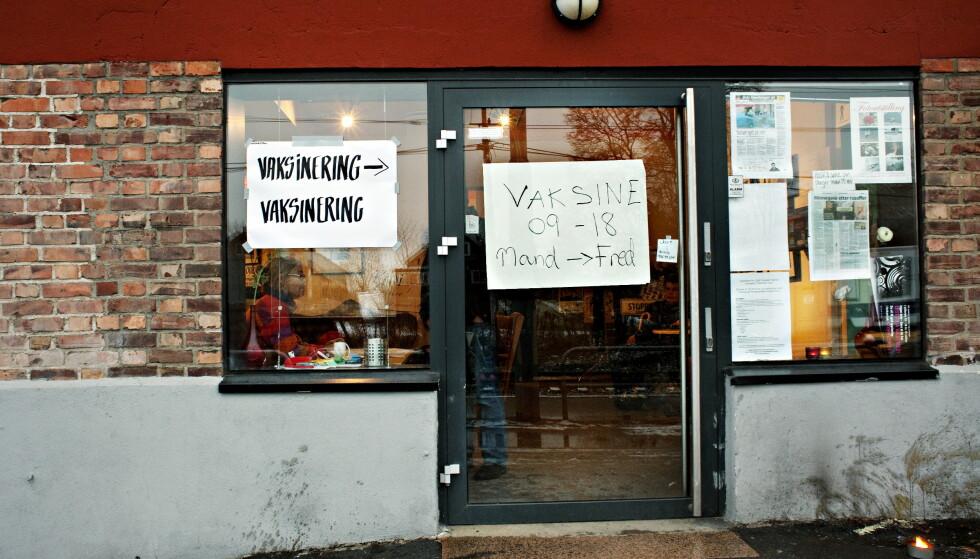 TILBUD OVERALT: 2,2 millioner nordmenn lot seg vaksinere mot svineinfluensa i 2009, etter råd fra myndighetene. Foto: Nina Hansen / Dagbladet