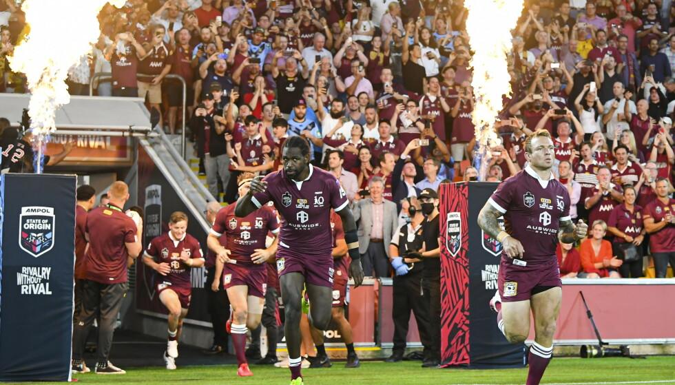 UVANTE SCENER: Mens de fleste idrettsarrangement i verden stort sett går for tomme tribuner, er det helt annerledes i Australia nå. Foto: NTB