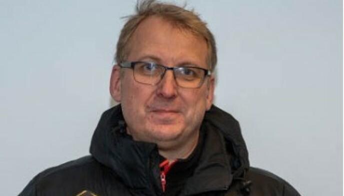 SPORTSSJEF: Espen Røkaas. Foto: Flint Tønsberg