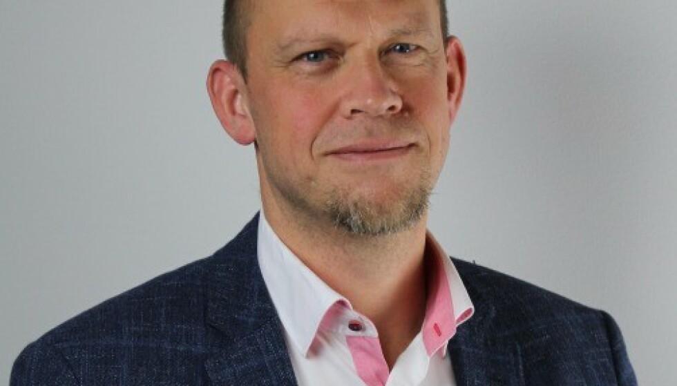 VIL IKKE BEKREFTE: Krister Hoaas i Lerøy vil ikke bekrefte at Lerøy vil slutte å kjøpe soya fra Cargill og soya fra Brasil. Foto: Lerøy