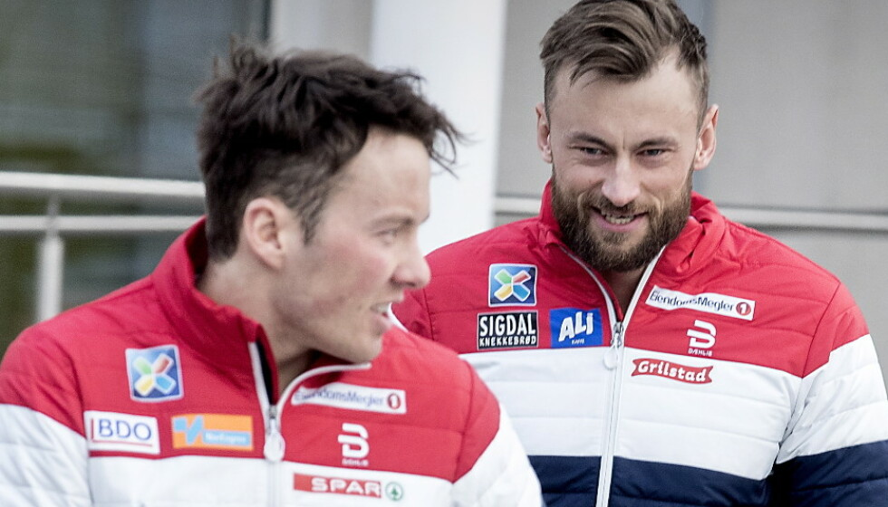 GODE VENNER: Emil Iversen og Petter Northug hadde et godt forhold da de gikk sammen på landslaget. Foto: Bjørn Langsem / Dagbladet