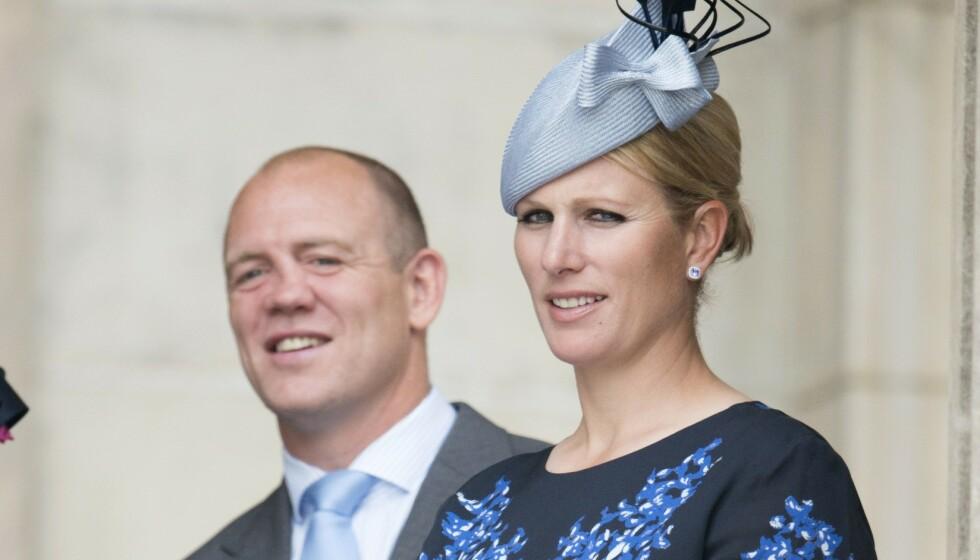 FANS: Zara Tindall er datter av prinsesse Anne, og er dermed dronning Elizabeths barnebarn. Hun er gift med Mike Tindall. Nå kommer sistnevnte med en oppsiktsvekkende avsløring om et emne «hele verden» prater om. Foto: Rex / NTB