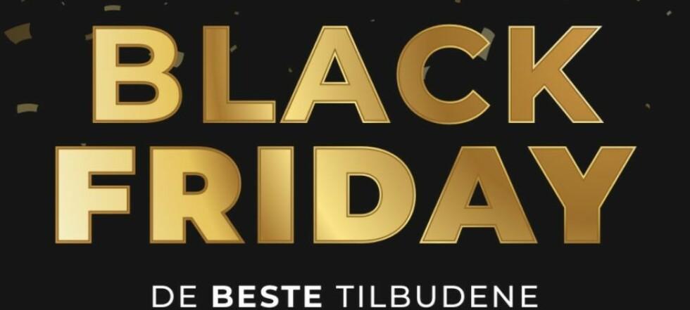 Black Week tilbudstudio - de beste tilbudene live