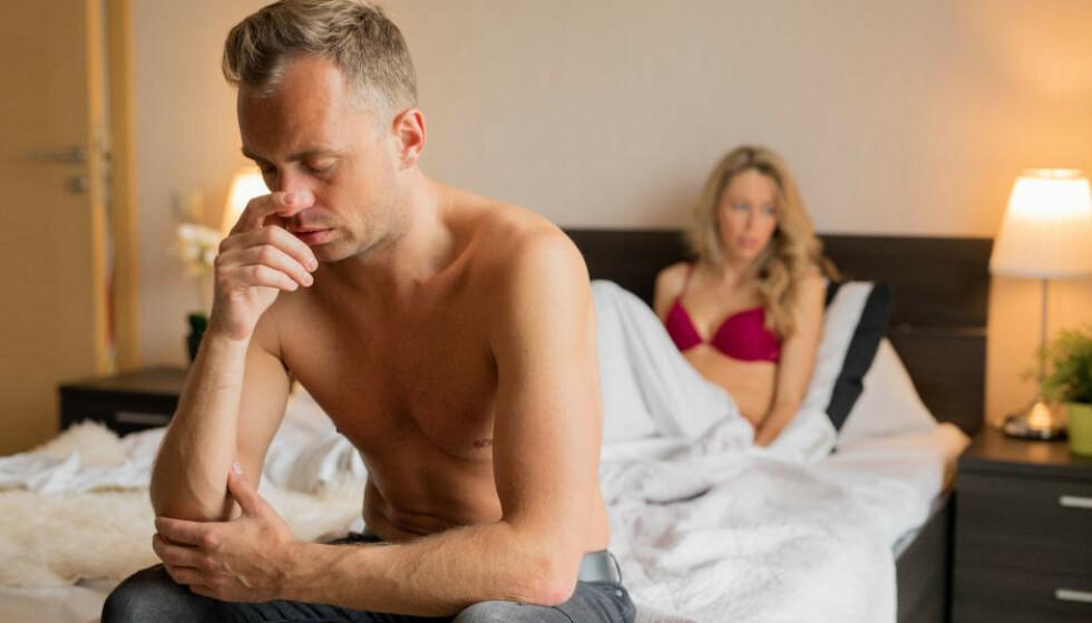 HJELP Å FÅ: Nedsatt lyst er det vanligste seksuelle problemet som rammer kvinner, men mange menn opplever også samme utfordring. Foto: NTB