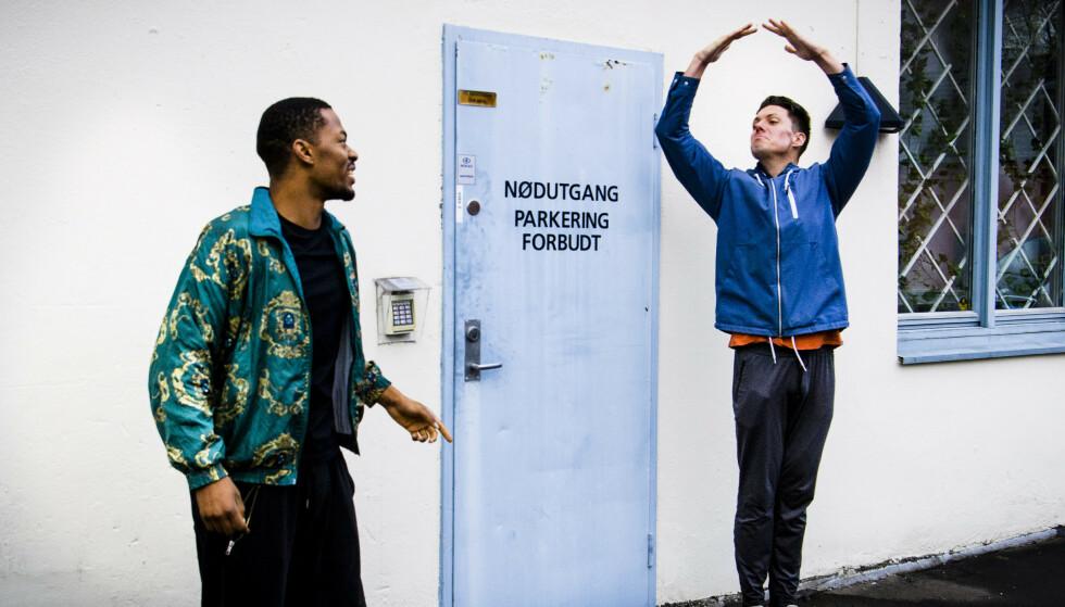 FINALEKLARE: Nate Kahungu eller Andreas Wahl blir årets «Skal vi danse»-vinner. Foto: Lars Eivind Bones / Dagbladet