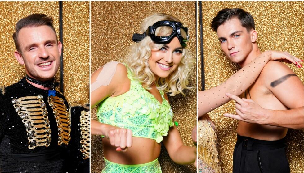 PROFFDANSERE: Benjamin Jayakoddy, Helene Spilling og Tarjei Svalastog driver alle med andre ting når de ikke danser. Foto: Espen Solli / TV 2