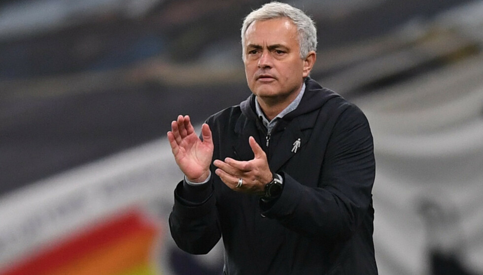 VINNER: José Mourinho på sidelinja mot Manchester City. Foto: NTB