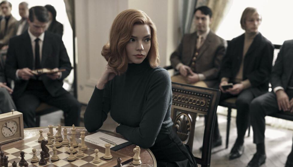 KAPRET HOVEDROLLEN: Anya Taylor-Joy har hovedrollen i Netflix-serien «The Queen's Gambit». Nå snakker hun ut om skuespillerlivet. Foto: Splash News / NTB