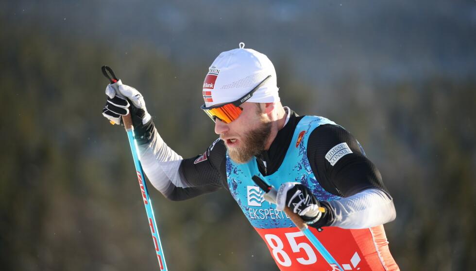 - FORBANNA: Martin Johnsrud Sunby slet på 10 kilometer. Foto: Bjørn Langsem / Dagbladet