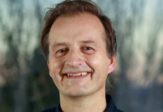 FORSKER: Professor Michael Bretthauer ved Universitetet i Oslo. Foto: Niklas R. Lello / UiO