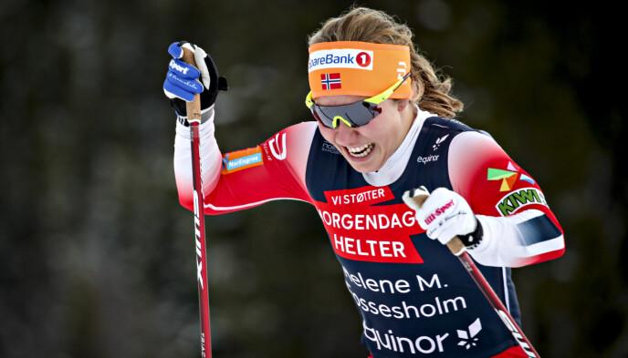 MINUSSIDEN: -Ingen toppdag, sier Helene Marie Fossesholm. Foto: Bjørn Langsem / Dagbladet