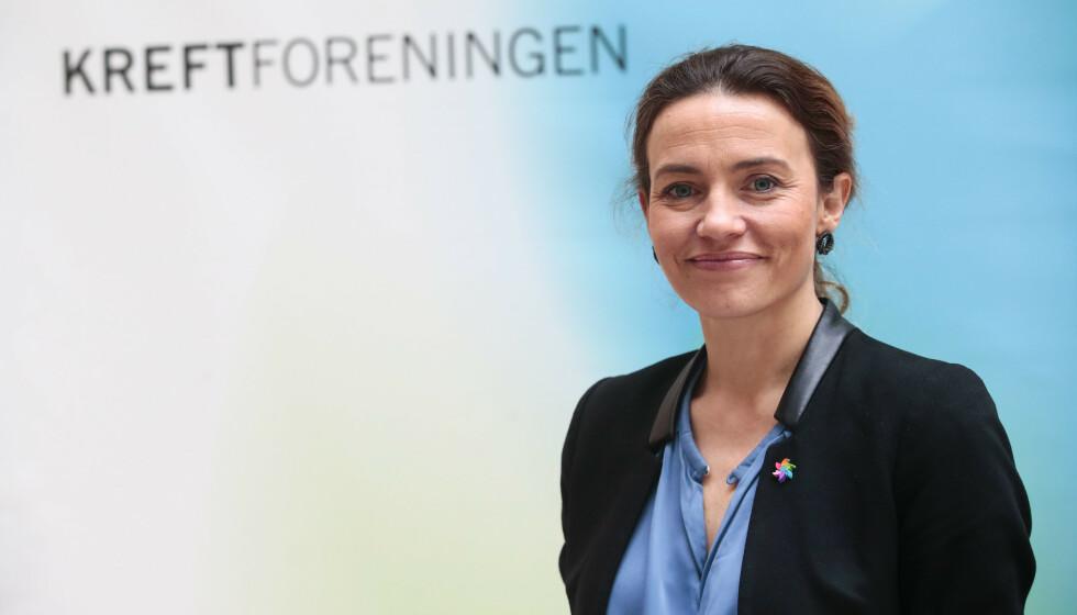 KREFTSTUDIE: Ingrid Stenstadvold Rosser generalsekretær i Kreftforeningen. Foto: Lise Åserud / NTB