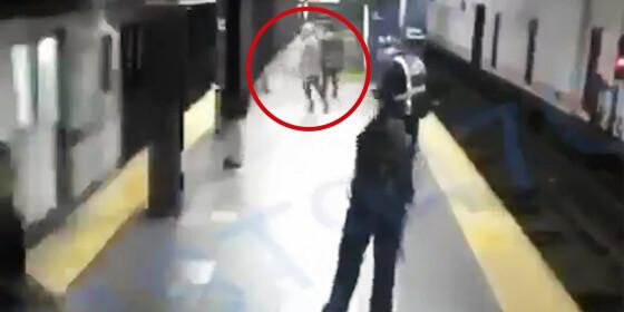 Image: Brutalt overfall på togstasjonen