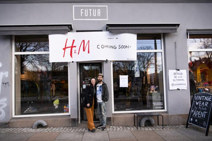 FORNØYDE: Eierne av Futur, Eleonora Si-Lang og Thomas Angell, er glade for støtten. Foto: Lars Eivind Bones / Dagbladet
