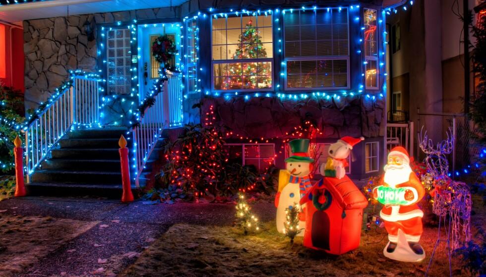 Ikke sett naboen så mye som vanlig i år? Her er juledekorasjonen som kanskje kan hjelpe deg å komme i prat med han igjen.
