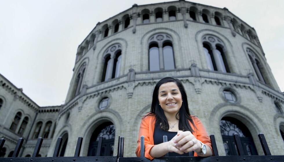 KAMP: Zaineb Al-Samarai kan ende i kampvotering om sikker stortingsplass på nominasjonsmøtet i Oslo Ap neste tirsdag. Foto: Lars Eivind Bones / Dagbladet