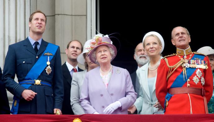 2010: Her er prinsessa med store deler av kongefamilien i juni 2010. Foto: Pa Photos / Anwar Hussein