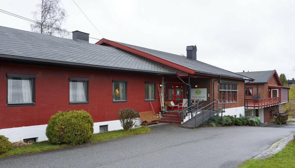 NI DØDE: Samtlige beboere ved Villa Skaar Valstad i Eidsvoll har testet positivt for covid-19. Ni av dem er døde. Foto: Villa Skaar Valstad sykehjem. Foto: Ole Berg-Rusten / NTB