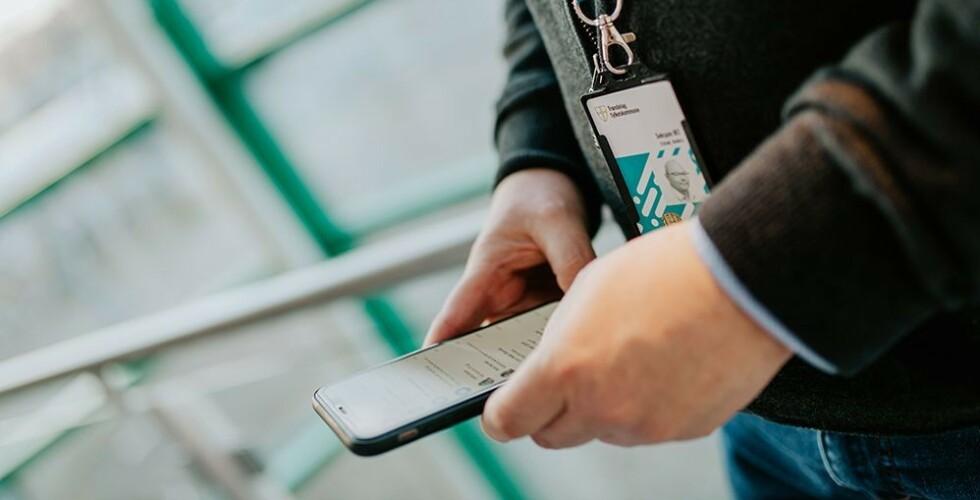 Mobilløsningen fjerner manuelle og tidkrevende rutiner