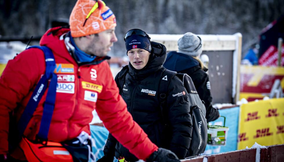 MISTER VERDENSCUPDEBUT: Mikael Gunnulfsen får skryt for å være ærlig av landslagstrener Eirik Myhr Nossum. Foto: Bjørn Langsem