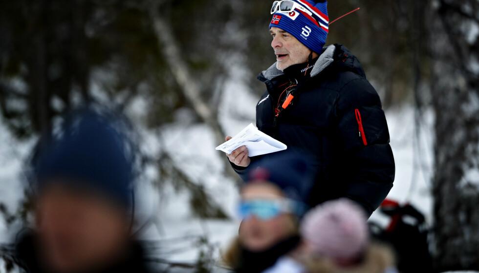 TRENER: Steinar Mundal, her fra NM i 2019. Foto: Bjørn Langsem