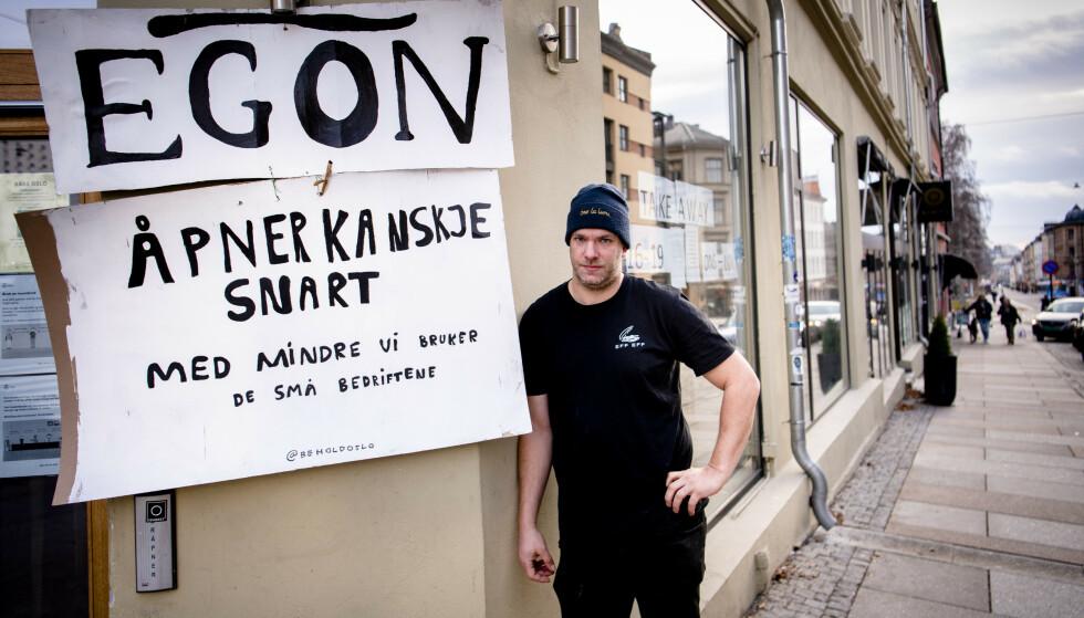 BEKYMRET: Bass-medeier Torstein Eek deler bekymringene til folka bak kampanjen og støtter tiltaket. Foto: Lars Eivind Bones / Dagbladet