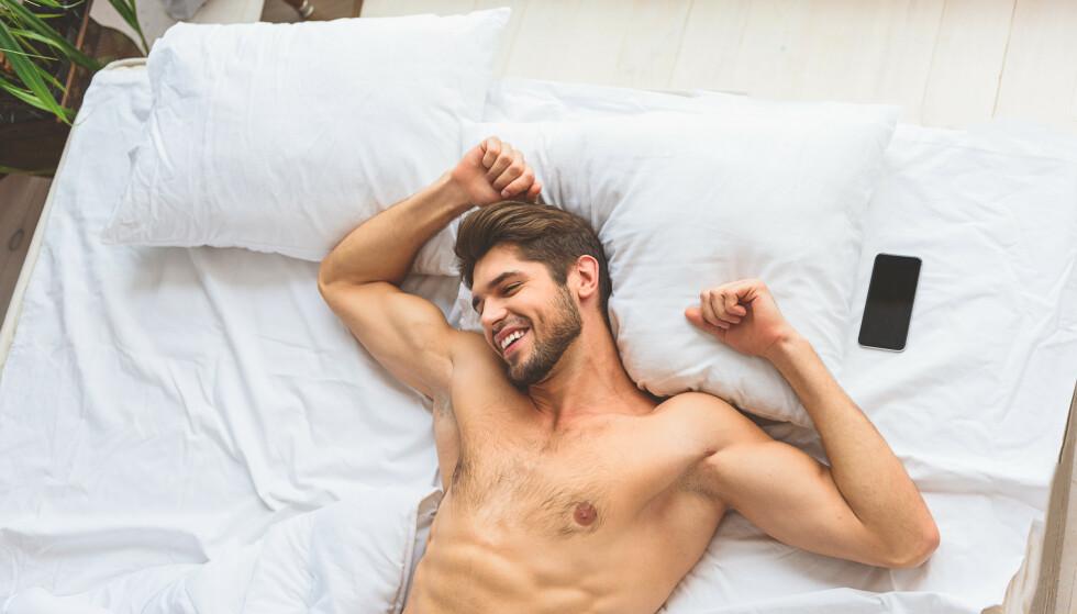 Økning i salg til menn: En rekke spennende nyheter til mann har ført til kraftig salgsvekst. (Bilde: Shutterstock)