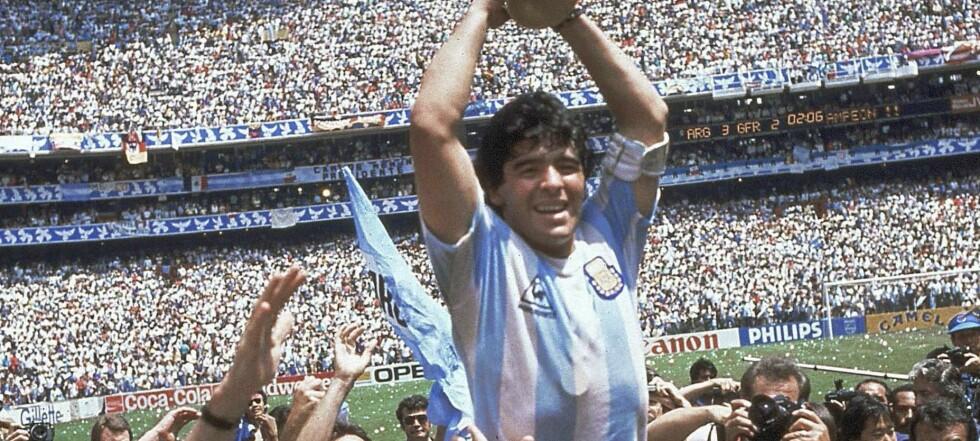 Maradona er død