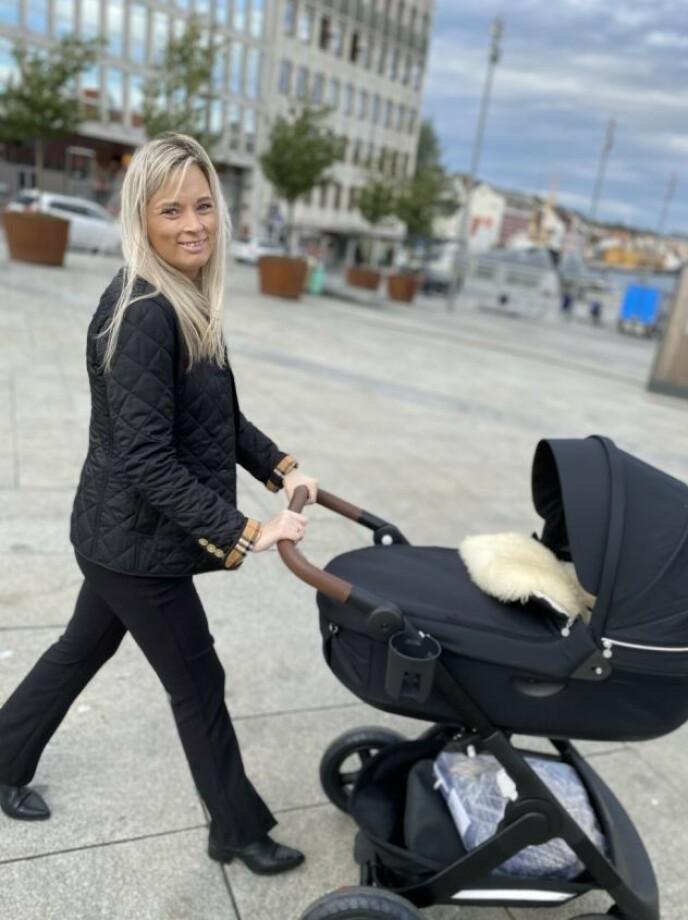 FIKK BARN: Gro Ottesen rakk aldri å oppleve å bli bestemor. Foto: Privat