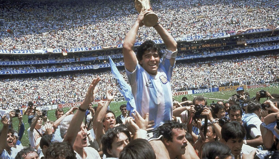 IKON: Diego Maradona. Foto: NTB