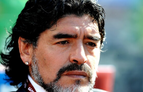 Maradonas siste minutter