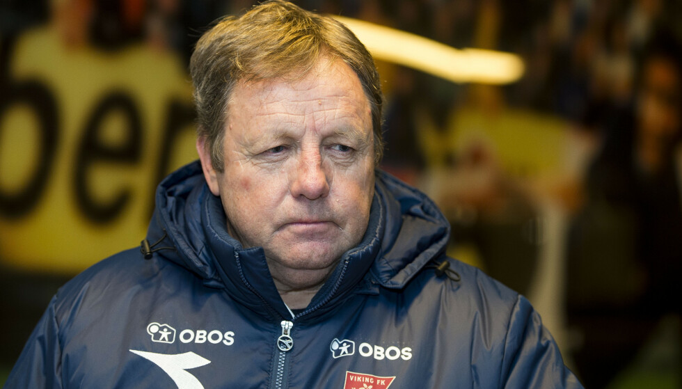 SPARKET: Viking-trener Bjarne Berntsen. Foto: Carina Johansen / NTB