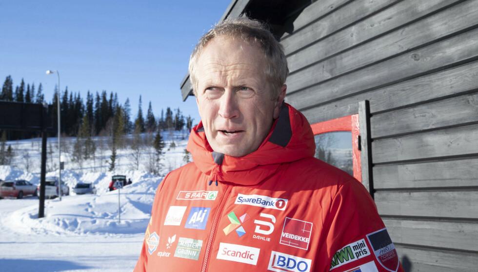 I SJOKK: Espen Bjervig legger ikke skjul på at det var en sjokkfølelse i troppen etter den positive coronatesten. Den viste seg å være negativ etter en retest. Foto: NTB