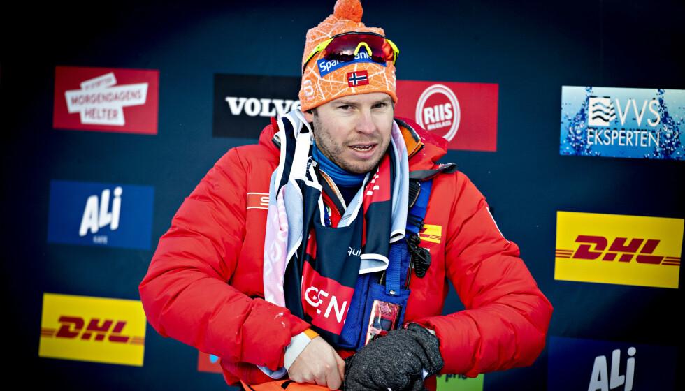IKKE SMITTET: Eirik Myhr Nossum er likevel ikke coronasmittet. Foto: Bjørn Langsem / Dagbladet