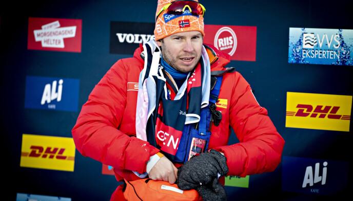 HYLLER SUNDBY: Landslagstrener Eirik Myhr Nossum . Foto: Bjørn Langsem / Dagbladet