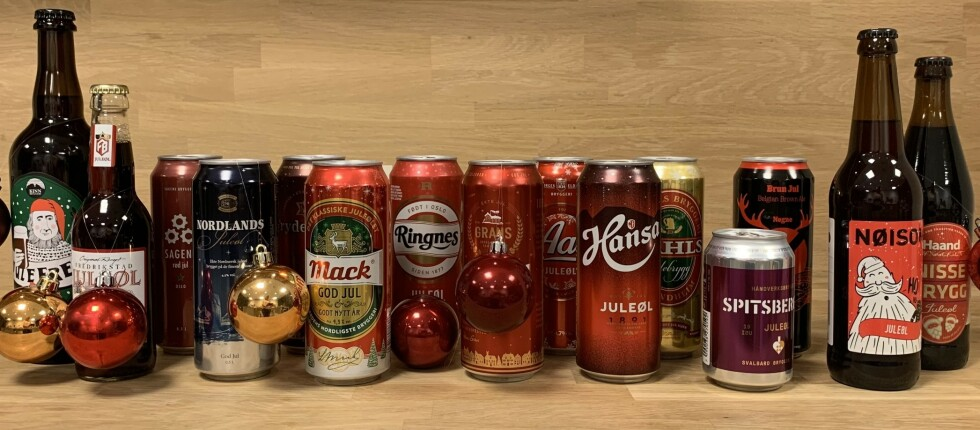 GLEDELIG JUL! VI har testet et knippe øl fra norske dagligvarebutikker, og fant flere godbiter.
