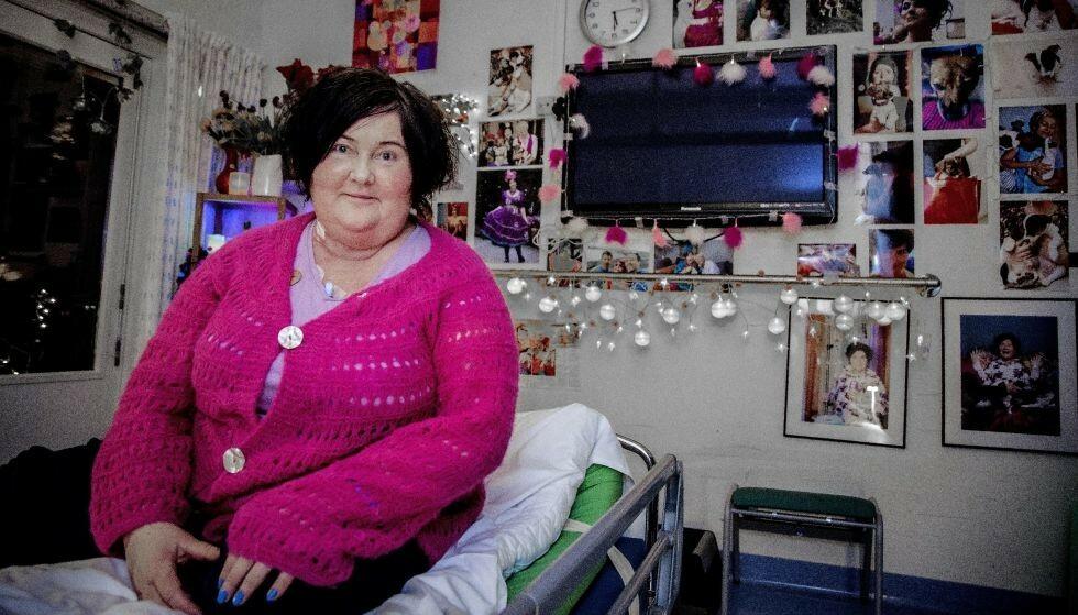 INNLAGT: Christine Koht deler ny oppdatering om hvordan det står til med helsa. Foto: Tor Lindseth / Se og Hør