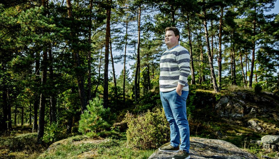 ØDELAGT: - Jeg føler meg som en ødelagt leke, jeg er ødelagt, sier Tobias Odner (24). Han ble rammet av narkolepsi etter vaksinen mot svineinfluensa. Foto: Nina Hansen / DAGBLADET