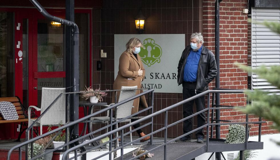 RAPPORT: Etter ni dødsfall ved sykehjemmet, har FHI vært på tilsyn ved Villa Skaar. Nå er rapporten klar. Foto: Bjørn Langsem / Dagbladet