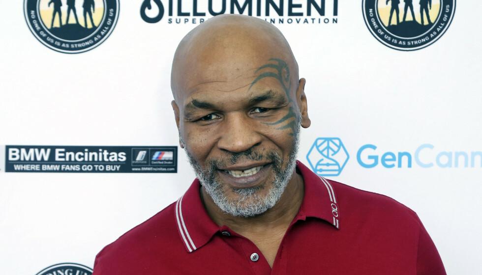 COMEBACK: Mike Tyson er tilbake i ringen natt til søndag. Foto: NTB