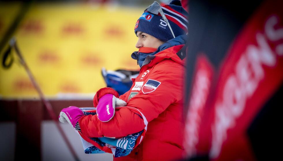 STÅR OVER: Heidi Weng, her fra Beitostølen forrige helg, velger å droppe konkurransene lørdag og søndag. Foto: Bjørn Langsem