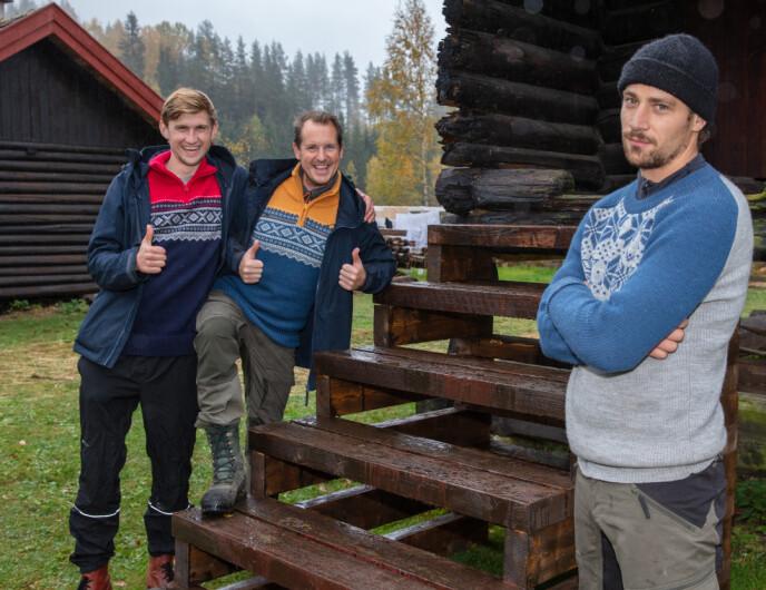 MISFORNØYD: Da ukesoppdraget ble godkjent la ikke Daniel Viem Årdal skjul på sin misnøye. Foto: Alex Iversen / TV 2