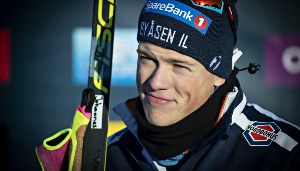 TAR PAUSE: Johannes Høsflot Klæbo tar pause fra verdenscuprenn ut året. Foto: Bjørn Langsem / Dagbladet