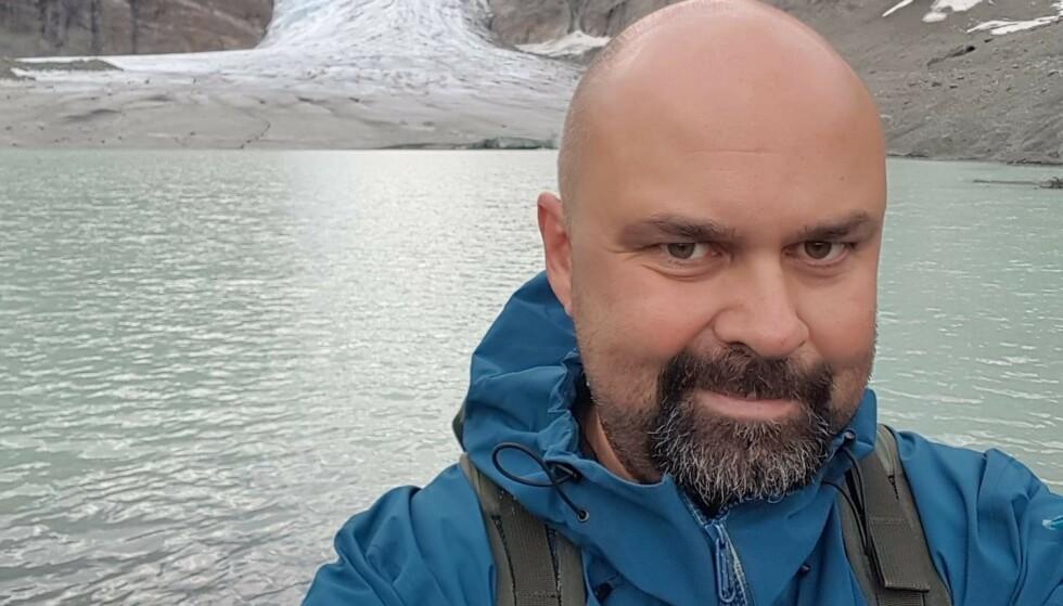 FORTVILET: Markus Pikkarainen, tillitsvalgt ved UNN, forteller om en ekstrem arbeidsbelastning. Foto: Privat