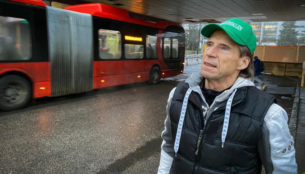 RETTSSTATEN: Massekontroll av alle passasjerer på et T-banetog er åpenbart i strid med rettsstatens prinsipper, skriver Dagbladets kommentator. Foto: Øistein Norum Monsen/Dagbladet