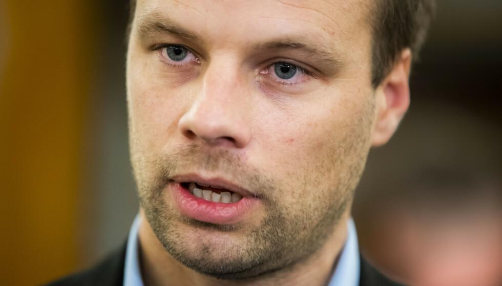 - VISSTE IKKE: Jon Helgheim (Frp) mener dem som stemte mot ham på nominasjonsmøtet ble lurt til å tro at han ikke ville bli vraket. Foto: Håkon Mosvold Larsen / NTB